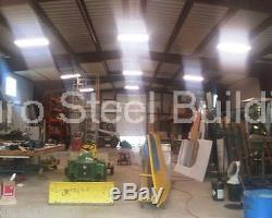 DuroBEAM Steel 50x100x26 Metal Building Prefab Custom Clear Span Workshop DiRECT