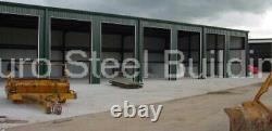 DuroBEAM Steel 50x104x12 Metal Building Kit Clear Span Workshop Structure DiRECT