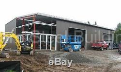 DuroBEAM Steel 50x110x16 Metal Garage Man Cave Auto Workshop Building Kit DiRECT