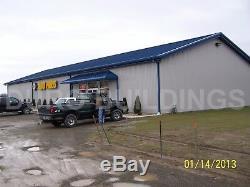 DuroBEAM Steel 50x120x16 Metal Building DIY Auto Body-Paint & Repair Shop DiRECT