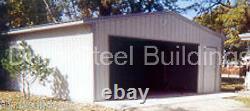 DuroBEAM Steel 50x50x12 Metal Building Kit Residential Garage Workshop DiRECT