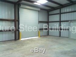 DuroBEAM Steel 50x50x14 Metal Building Kit Auto Garage Workshop Structure DiRECT