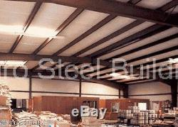 DuroBEAM Steel 50x60x17 Metal Rigid Frame Clear Span Building Garage Shop DiRECT