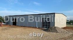 DuroBEAM Steel 50x78x18 Metal Garage Building Workshop As Seen On TV DiRECT