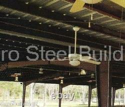 DuroBEAM Steel 60'x150'x26' Metal Prefab Rigid Frame Building Roof System DiRECT