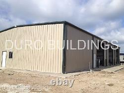 DuroBEAM Steel 60'x78'x20 Metal Prefab Custom Made To Order Building Shop DiRECT