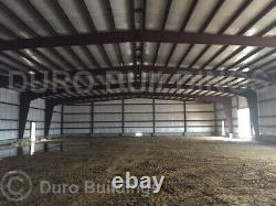 DuroBEAM Steel 60x60x20 Metal Garage Shop Made To Order DIY Building Kits DiRECT