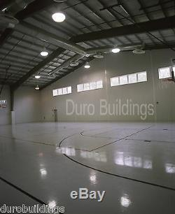 DuroBEAM Steel 65'x125'x20 Metal Building Made To Order Church Structures DiRECT