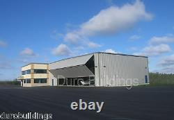 DuroBEAM Steel 75x75x20 Metal Hangar Airplane Clear Span Storage Building DiRECT