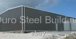 DuroBEAM Steel 80x90x20 Metal Building Clear Span Workshop Made To Order DiRECT