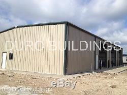 DuroBEAM Steel 80x92x20 Metal Rigid Frame Clear Span Industrial Building DiRECT