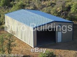 DuroBeam Steel 25x50x16 Metal Building Clear Span I-beam Garage Shop Kit DiRECT