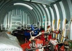DuroSPAN Steel 14x24x10 Metal Building Shop Kit DIY Home Sheds Open Ends DiRECT