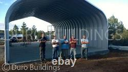 DuroSPAN Steel 16'x20'x12 Metal Building DIY Home Storage Shed Open Ends DiRECT