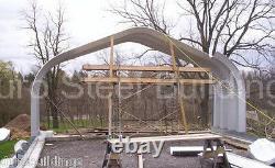 DuroSPAN Steel 16x16x12 Metal Building Open Ends DIY Carport Kit Factory DiRECT