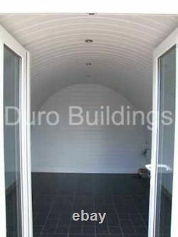 DuroSPAN Steel 18x21x12 Metal Building DIY Home Storage Shed Open Ends DiRECT