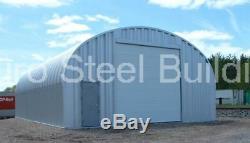 DuroSPAN Steel 20x30x12 Metal Garage Building Kit Workshop Shed Factory DiRECT