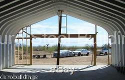 DuroSPAN Steel 20x30x16 Metal DIY Straight Wall Arch Building Open Ends DiRECT