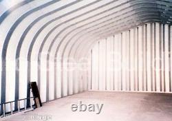 DuroSPAN Steel 20x30x16 Metal Shed DIY Building Kit Home Storage Garage DiRECT