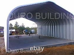 DuroSPAN Steel 20x33x16 Metal Garage DIY Building Kits Open Ends Factory DiRECT