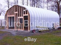 DuroSPAN Steel 20x40x12 Metal Workshop DIY Building Kit Open Ends Factory DiRECT