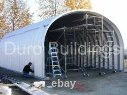 DuroSPAN Steel 25'x20'x14' Metal Building DIY Home Kits Open Ends Factory DiRECT