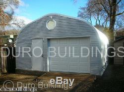 DuroSPAN Steel 25'x22'x12 Metal Garage Building Carport Open Ends Factory DiRECT