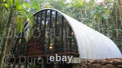 DuroSPAN Steel 25'x25'x10 Metal Building DIY Home Kits Open Ends Factory DiRECT
