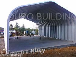DuroSPAN Steel 25'x28'x13 Metal Straight Wall Arch Building Kit Open Ends DiRECT