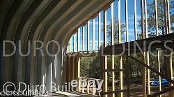 DuroSPAN Steel 25'x34x'13 Metal Prefab DIY Building Kit Open Ends Factory DiRECT
