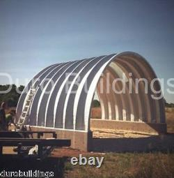 DuroSPAN Steel 25x25x12 Metal Building DIY Home Shed Open Ends Factory DiRECT