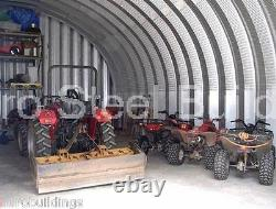 DuroSPAN Steel 25x30x14 Metal Building Shed DIY Home Garage Workshop Kits DiRECT