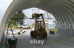 DuroSPAN Steel 25x32x14 Metal Building DIY Garage Workshop Kit Open Ends DiRECT