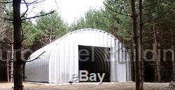 DuroSPAN Steel 25x46x14 Metal Arch Straight Wall Buildings DIY Home Kits DiRECT