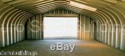 DuroSPAN Steel 25x50x13 Metal Garage Home Storage Tool Shed Building Kit DiRECT