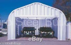 DuroSPAN Steel 25x50x16 Metal Garage Shop RV & Boat Storage Building Kit DiRECT