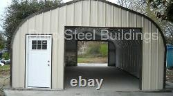 DuroSPAN Steel 30'x24'x14' Metal DIY Home Building Shop Open Ends Factory DiRECT