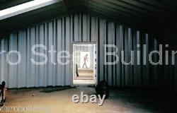 DuroSPAN Steel 30'x38'x14' Metal Garage DIY Building Kit Workshop Factory DiRECT