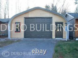 DuroSPAN Steel 30x20x14 Metal Garage DIY Home Shop Building Kit Open Ends DiRECT