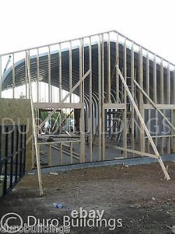 DuroSPAN Steel 30x20x14 Metal Garage Home Shop DIY Building Kit Open Ends DiRECT