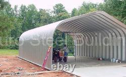 DuroSPAN Steel 30x20x16 Metal Garage Shop DIY Home Building Kit Open Ends DiRECT