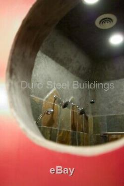 DuroSPAN Steel 30x30x14 Metal Building Kit DIY Home Workshop Off the Grid DiRECT
