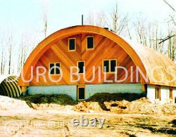 DuroSPAN Steel 30x30x14 Metal Quonset Building DIY At Home Kits Open Ends DiRECT