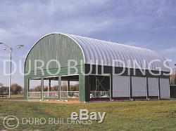 DuroSPAN Steel 30x30x15 Metal Prefab Building Kit Horse Barn Structures DiRECT