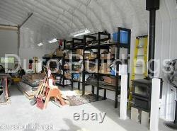 DuroSPAN Steel 30x32x15 Metal Building DIY Home Shop Garage Kit Open Ends DiRECT
