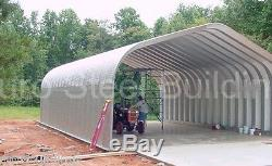 DuroSPAN Steel 30x34x14 Metal Garage Building Kit Shop Open Ends Factory DiRECT