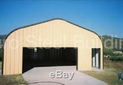 DuroSPAN Steel 30x34x15 Metal Building DIY Home Shop Garage Kit Open Ends DiRECT