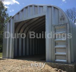 DuroSPAN Steel 30x40x15 Metal Building Kits DIY Home Shed Storage Garages DiRECT