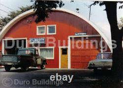 DuroSPAN Steel 30x42x14 Metal DIY Quonset Building Kits Open Ends Factory DiRECT