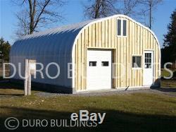 DuroSPAN Steel 30x44x15 Metal Building DIY Home Shop Garage Kit Open Ends DiRECT